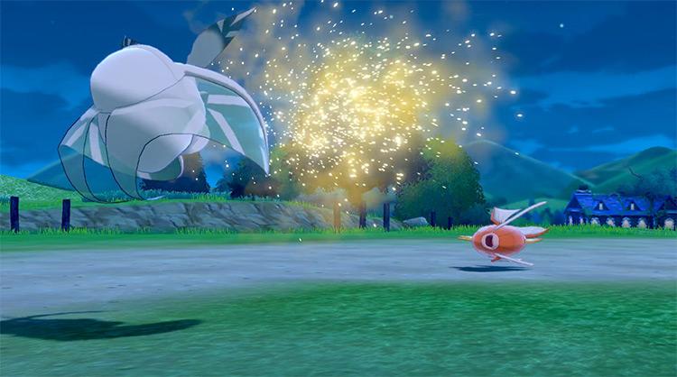 Spore Pokémon SWSH move