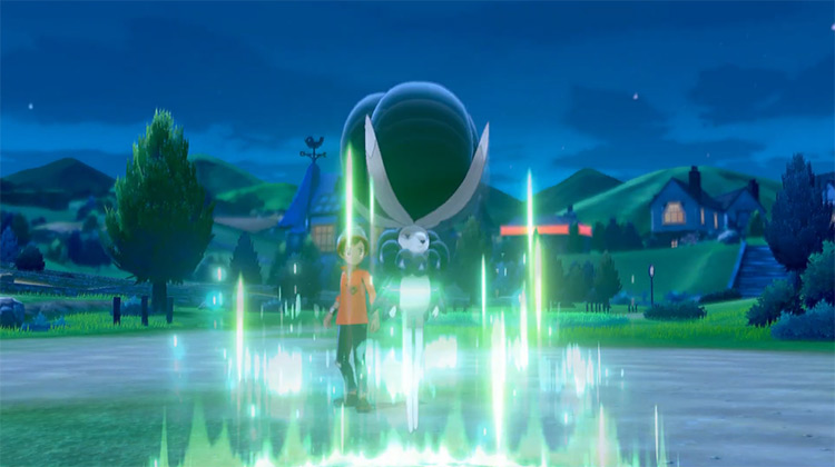 Growth move in Pokémon Sword and Shield