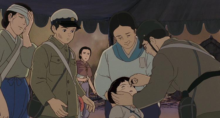 Grave of the Fireflies Ghibli anime