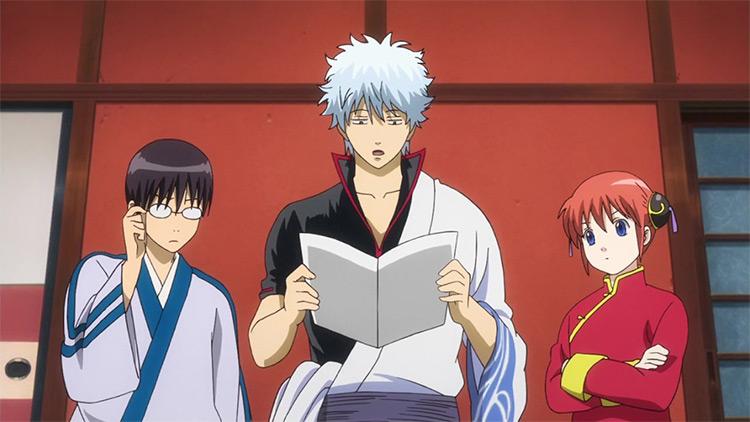 Gintama anime preview screenshot