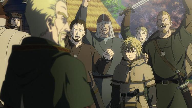 Vinland Saga anime screenshot