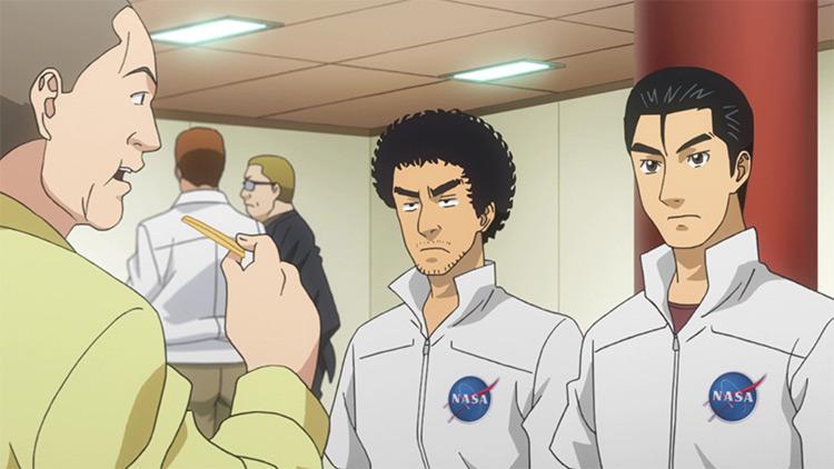 Uchuu Kyoudai anime screenshot