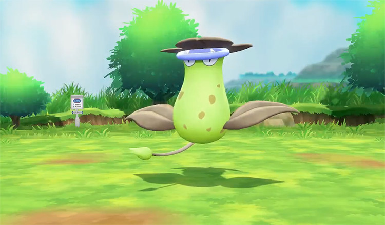 Shiny Victreebel in Pokémon: Let's Go, Pikachu! and Let's Go, Eevee!