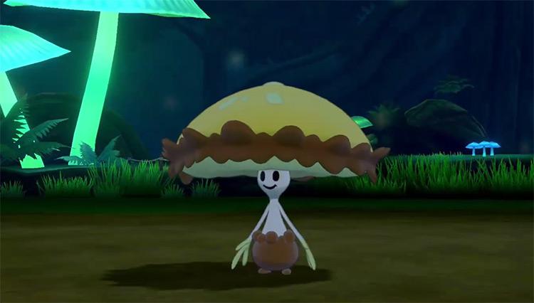 Shiny Shiinotic in Pokémon Sword and Shield