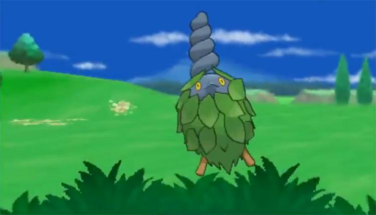 Shiny Burmy from Pokémon X and Y