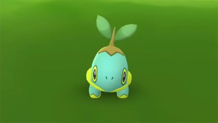 Shiny Turtwig in Pokémon GO