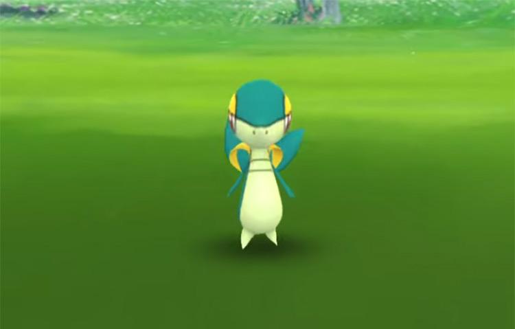 Shiny Snivy in Pokémon GO