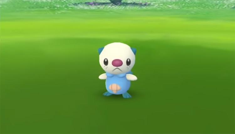 Shiny Oshawott in Pokémon GO