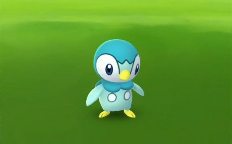 Shiny Piplup in Pokémon GO