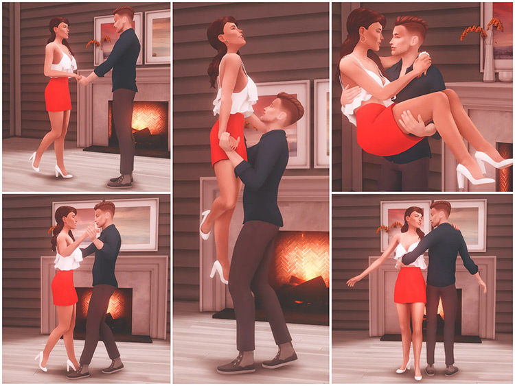 Can I Have This Dance? Pose Pack / TS4 CC