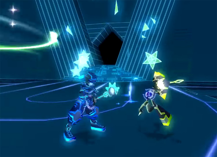 Strafer Heartless in Space Paranoids / KH 2.5 HD