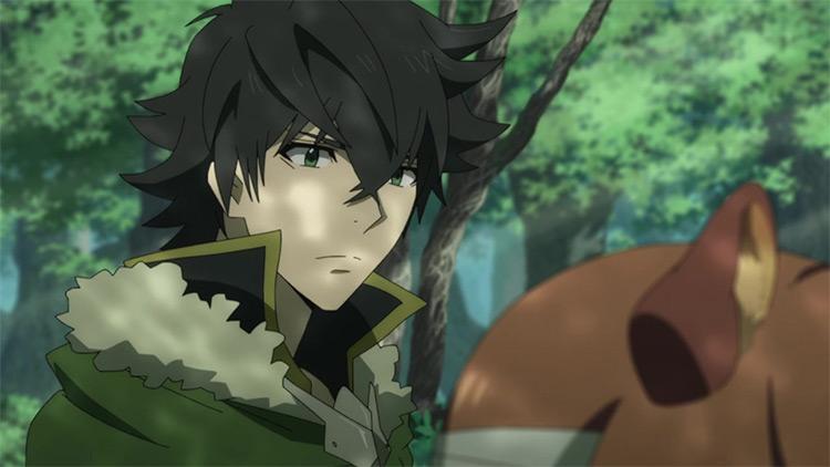 Naofumi Iwatani in The Rising of the Shield Hero