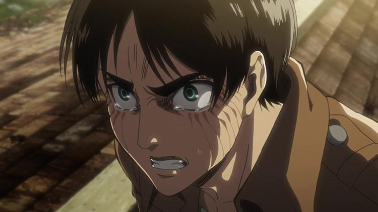 Eren Yeager in Shingeki no Kyojin (Attack on Titan)