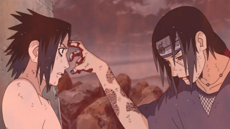 Itachi and Sasuke Uchiha from Naruto anime