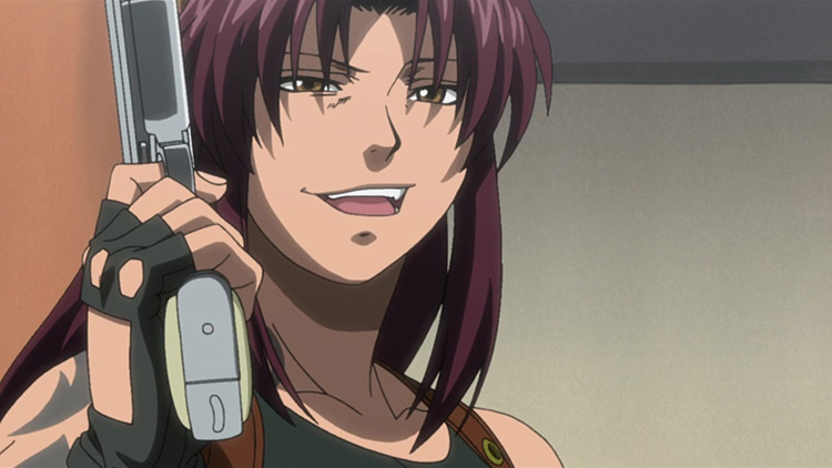 Rebecca Lee (Revy) from Black Lagoon anime