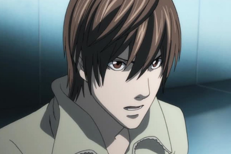 Yagami Light in Death Note anime