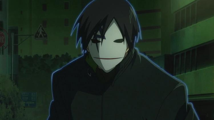 Hei in Darker than Black anime