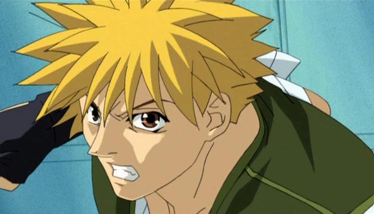 Ginji Amano from GetBackers anime
