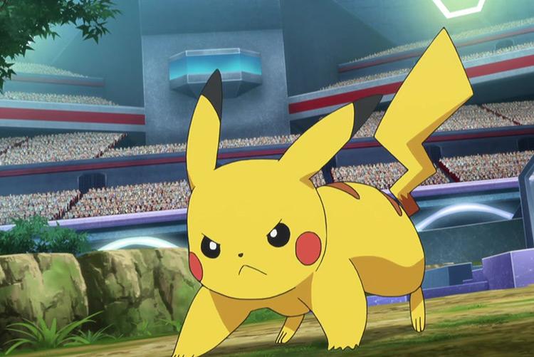 Ash's Pikachu from Pokémon anime