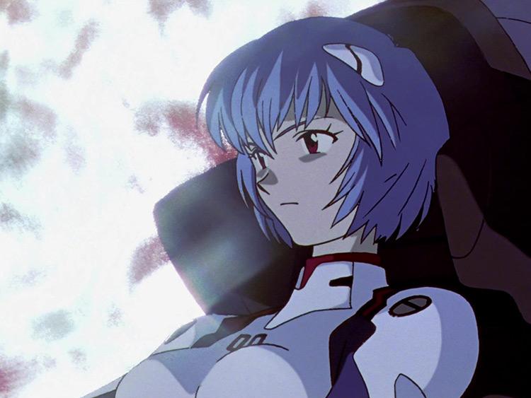 Rei Ayanami in Neon Genesis Evangelion