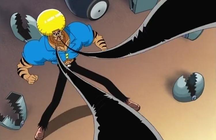 Fist of the Nose Hair from Bobobo-bo Bo-bobo anime