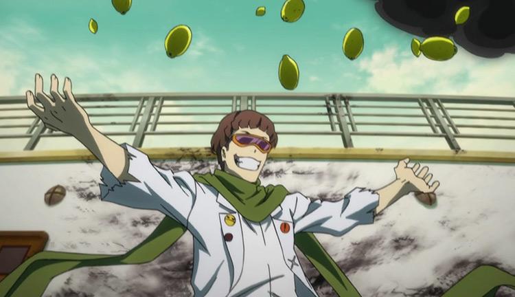Motojiro Kajii's Lemon-Shaped Explosion Immunity Bungo Stray Dogs anime screenshot