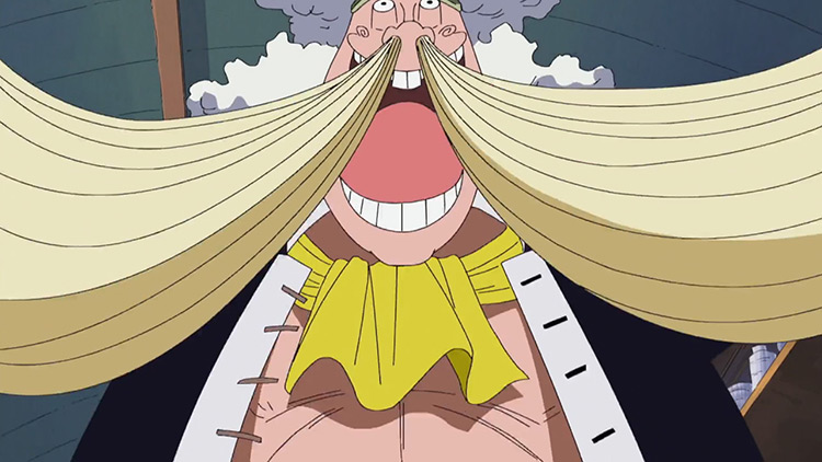 Wanze's Ramen Nose from One Piece anime