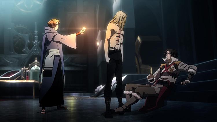 Castlevania anime screenshot