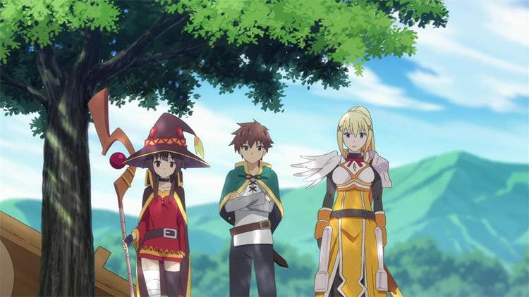 KonoSuba anime screenshot