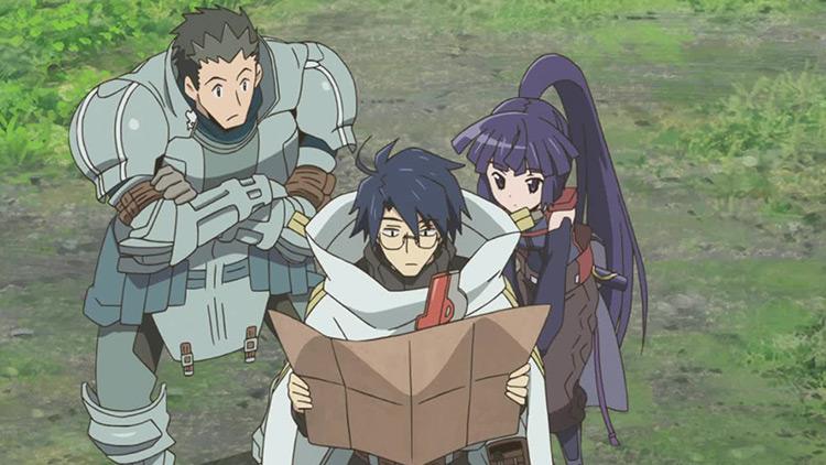 Log Horizon anime screenshot