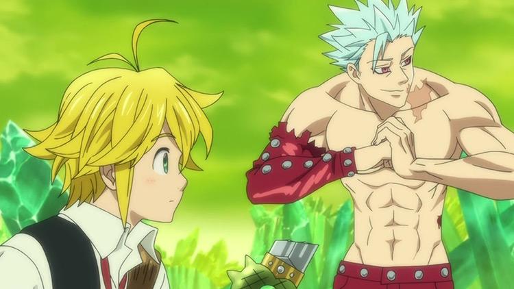 Seven Deadly Sins anime screenshot