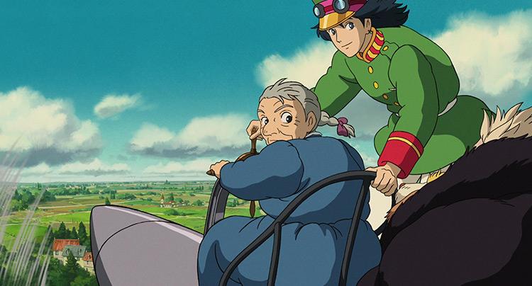 Howl's Moving Castle anime screenshot