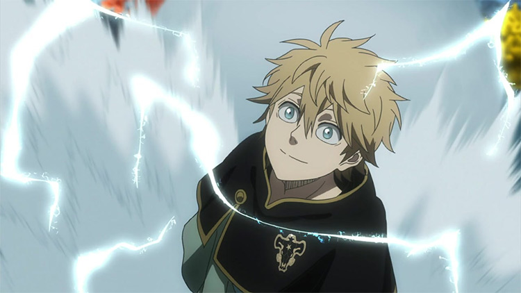 Luck Volta in Black Clover anime
