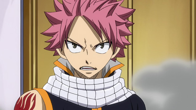 Natsu Dragneel from Fairy Tail anime