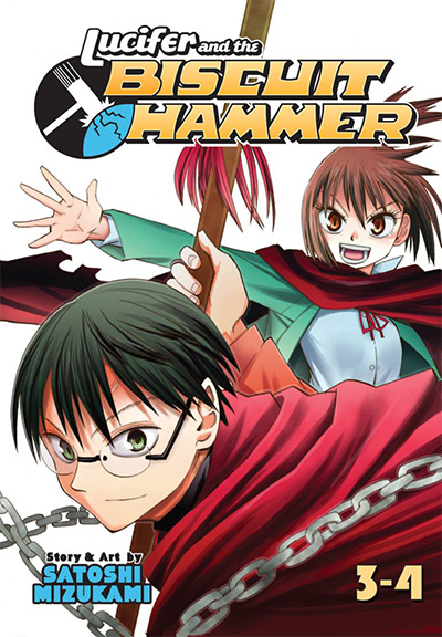 Lucifer and the Biscuit Hammer Vol. 3-4 Manga Cover
