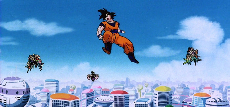 20 Notable Anime Characters That Can Fly