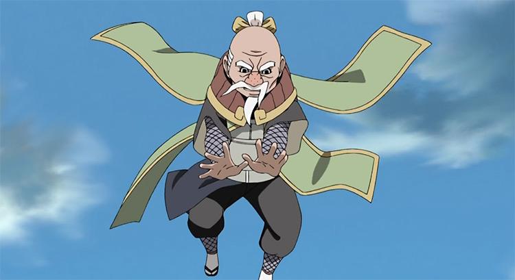 Onoki Naruto: Shippuden anime screenshot