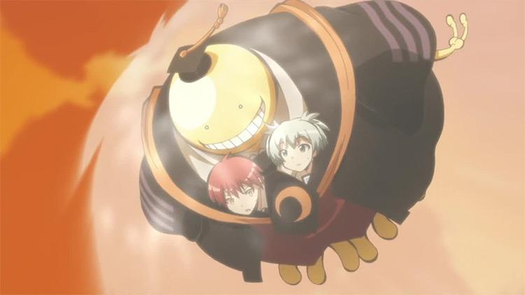 Koro-Sensei in Assassination Classroom anime