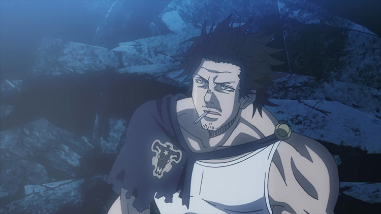 Yami Sukehiro Black Clover anime screenshot