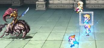 Curaga Magic Cast in Final Fantasy V (Mobile)