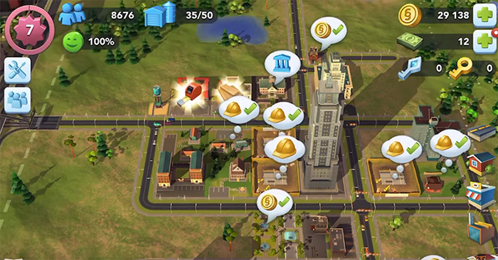simcity buildit gameplay