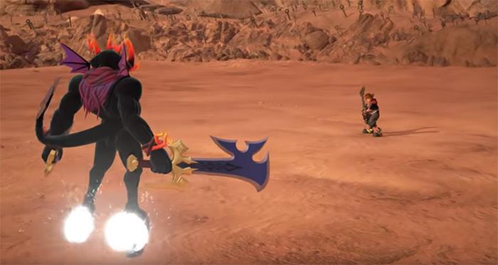 Dark Inferno boss kh3