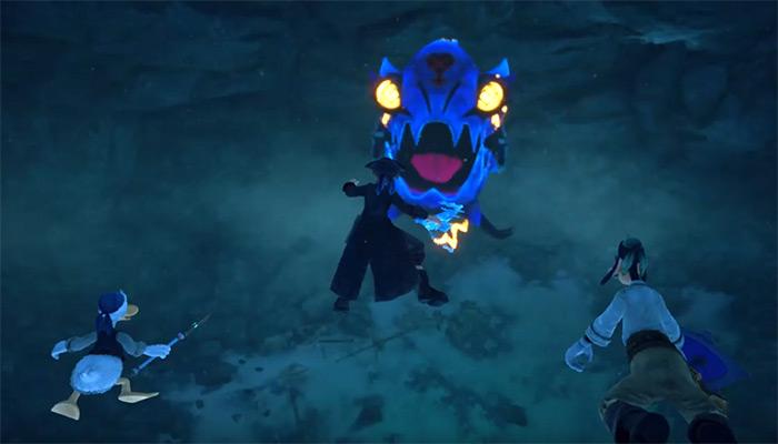 KH3 Lightening Angler boss