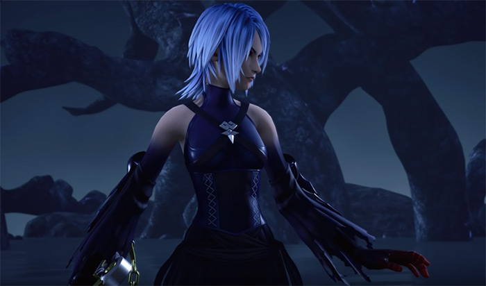 Dark Aqua boss battle KH3