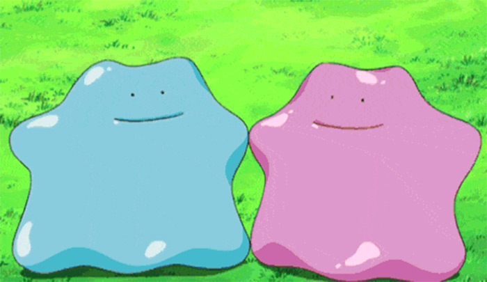 Ditto shiny and regular