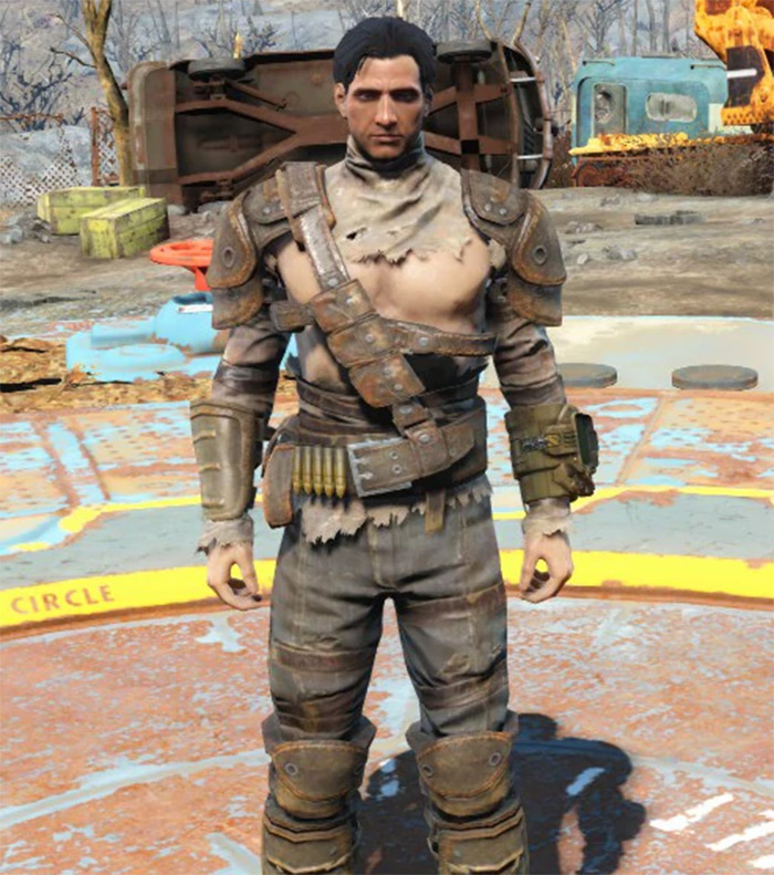 Leather Armor in Fallout4