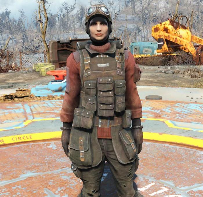 Fields Scribe Fallout4 Armor