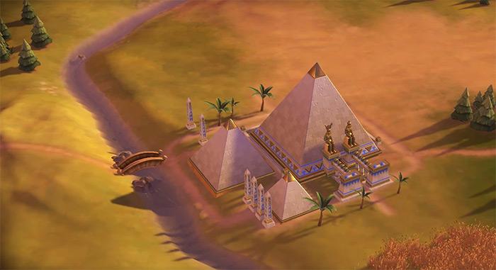 Pyramids Civ6