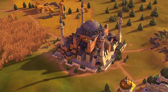 Hagia Sophia Civ6 wonder