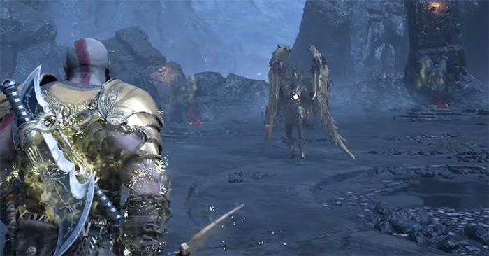 Sigrun Queen Valkyries - hardest God of War boss